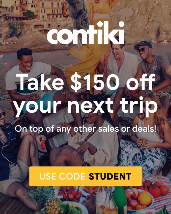Contiki - Deal Card